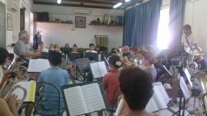 Croatia rehearsal